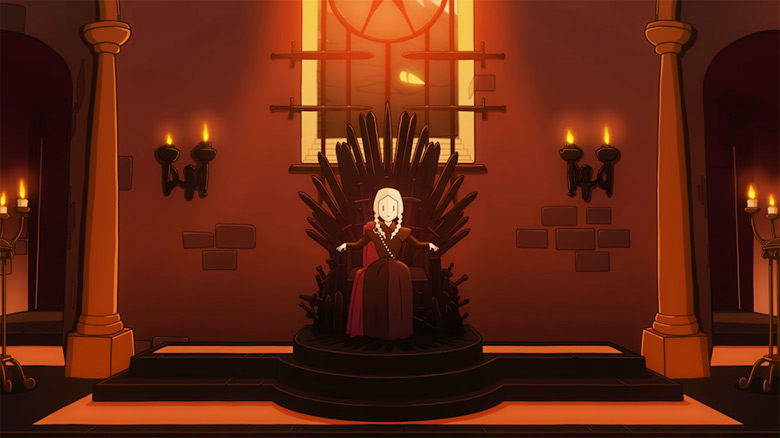 В американском AppStore показали необычную функцию «Reigns Game Of Thrones» для IPhone X