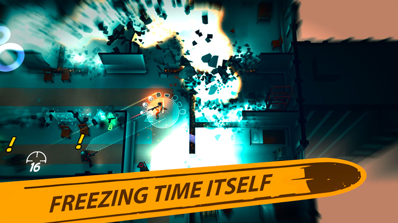 «Time Recoil» – новый убойный шутер от создателей «Neon Chrome»