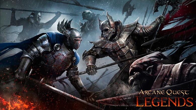 «Arcane Quest Legends» – hack'n'slash спин-офф к популярной серии ролевых игр