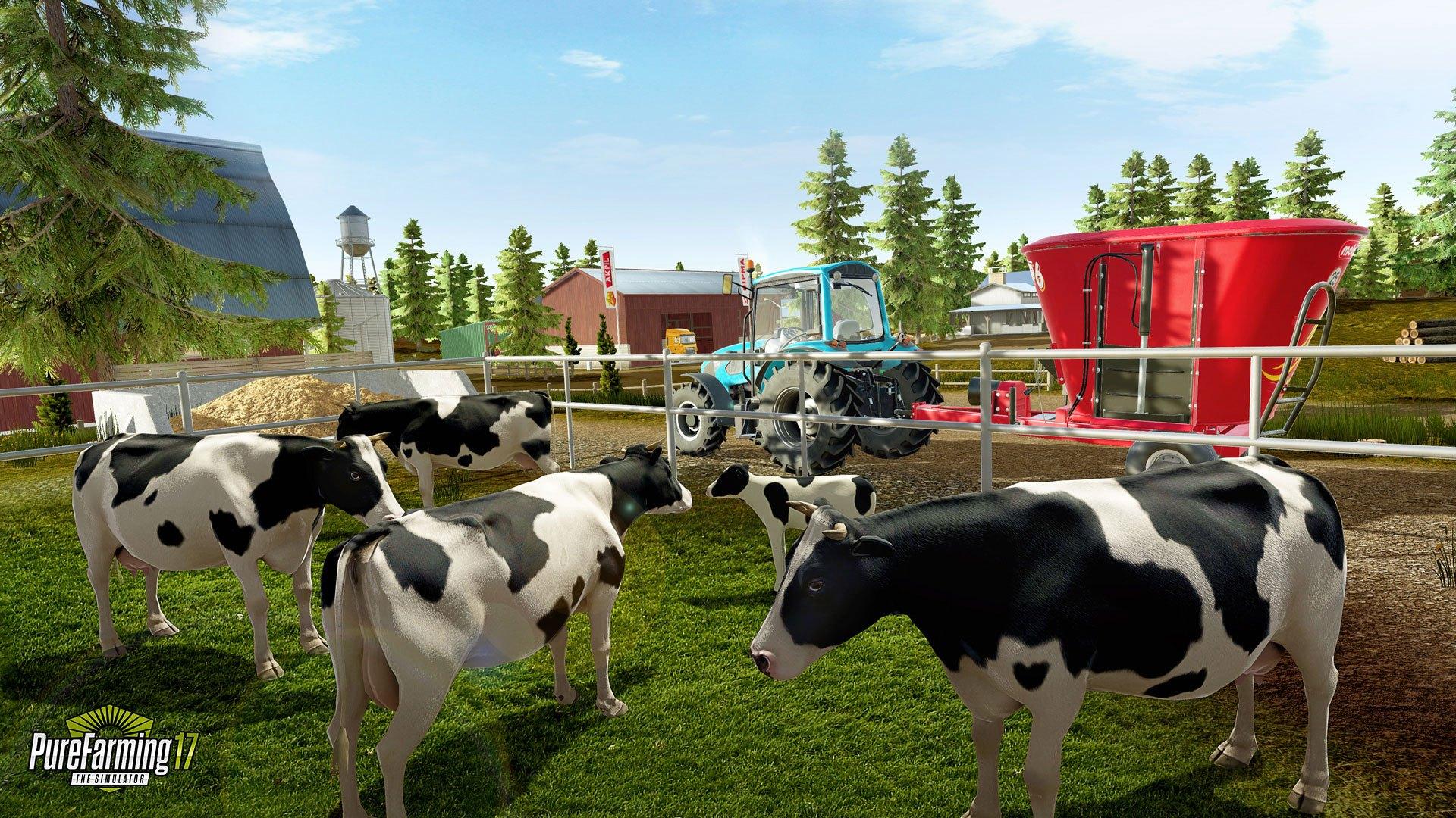 Разработчики анонсировали новый фермерский симулятор — игру Pure Farming 18