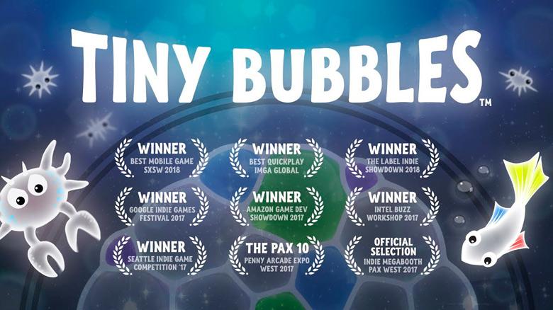 «Tiny Bubbles» – лопаем пузыри и ловим дзен