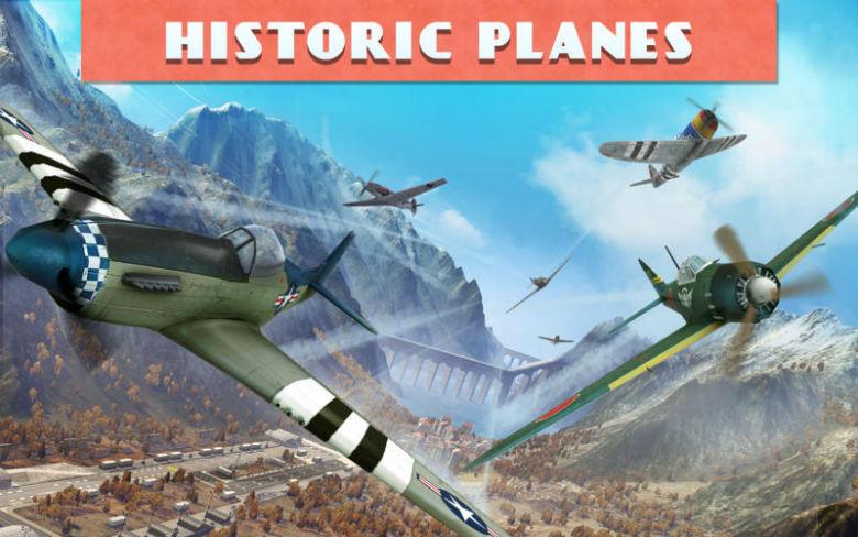 Релиз «Sky Gamblers: Races» – игра про полеты на самолетах времен Второй мировой войны