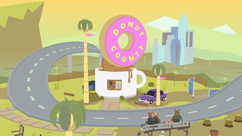 Первое видео головоломки «Donut Country»: итак, вы — дыра
