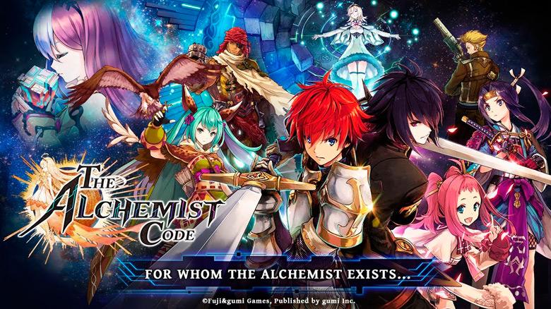 Открыта пререгистрация для популярной в Японии «The Alchemist Code»