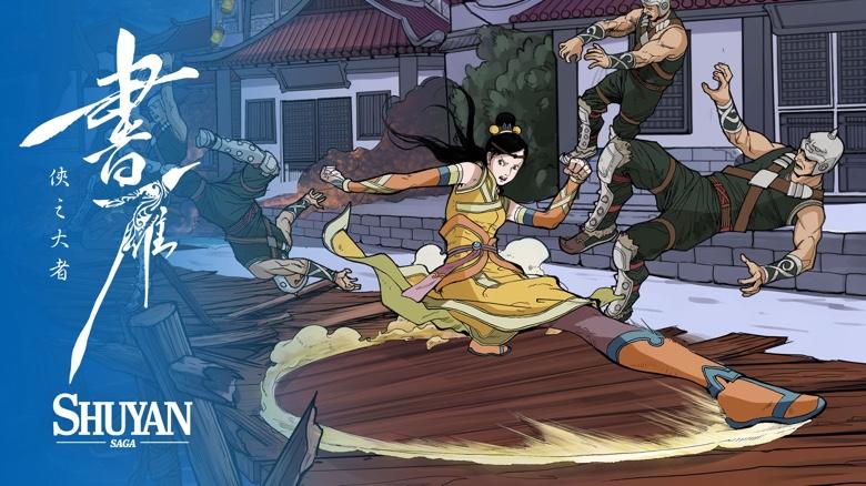«Shuyan Saga», графический роман с элементами экшена от автора комиксов «Звездные Войны», вышел для iOS