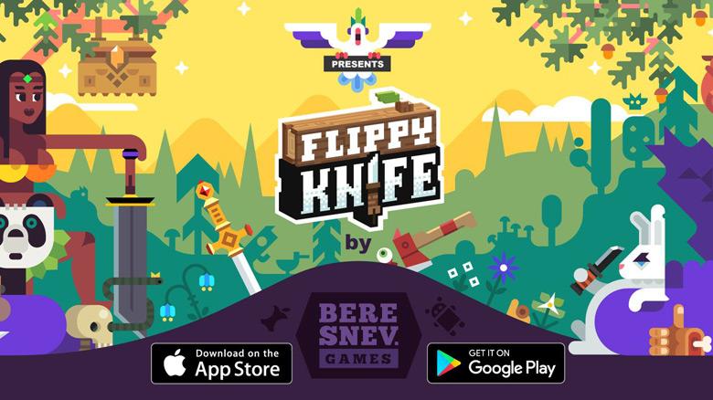 «Flippy Knife» – ножи, мечи, топоры и снова ножи