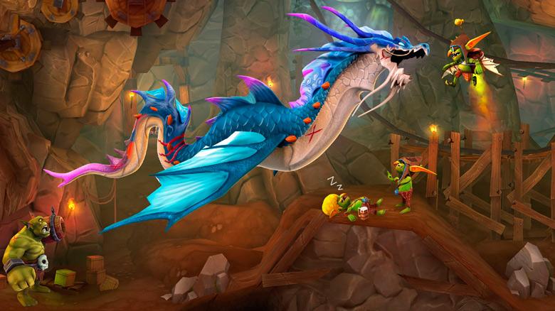 Станьте грозой небес и утолите свой голод в «Hungry Dragon»