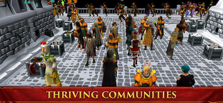 «Old School RuneScape»: легенда многопользовательских игр теперь у вас в кармане