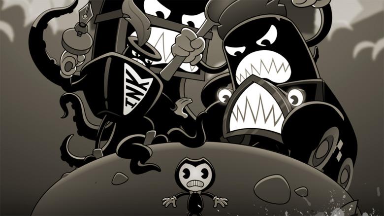 «Bendy In Nightmare Run» – раннер в стилистике мультфильмов 30-х годов доступен для предзаказа