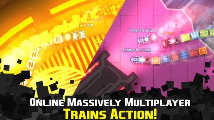 Софт-запуск «SQUAKE: snake trains battle action!», любопытной смеси Agar.io и легендарной змейки