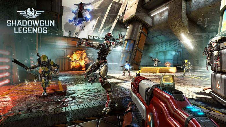 Новое видео игрового процесса Shadowgun: Legends
