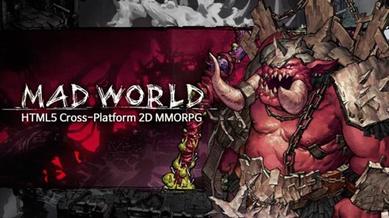 Новое видео кроссплатформенной MMO «Mad World», работающей на HTML5