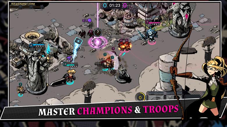 «Champions Rising – Legends of Elusia»: что будет, если смешать карточную игру с MOBA [софт-запуск]
