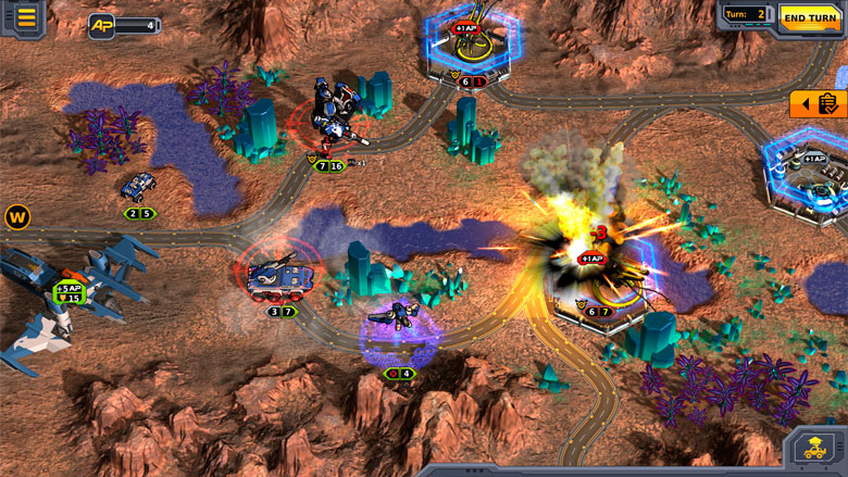 Пошаговая sci-fi стратегия Codex of Victory появилась в App Store