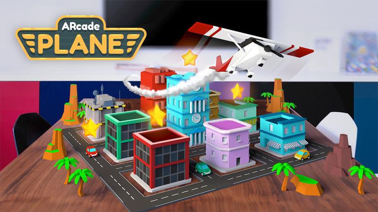«ARcade Plane»: управляйте самолётом в дополненной реальности одним касанием