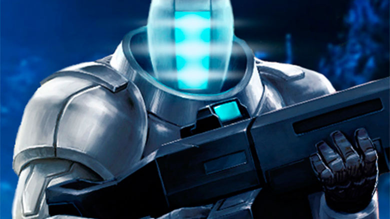 CyberSphere — top-down шутер в sci-fi сеттинге с киборгами и дронами