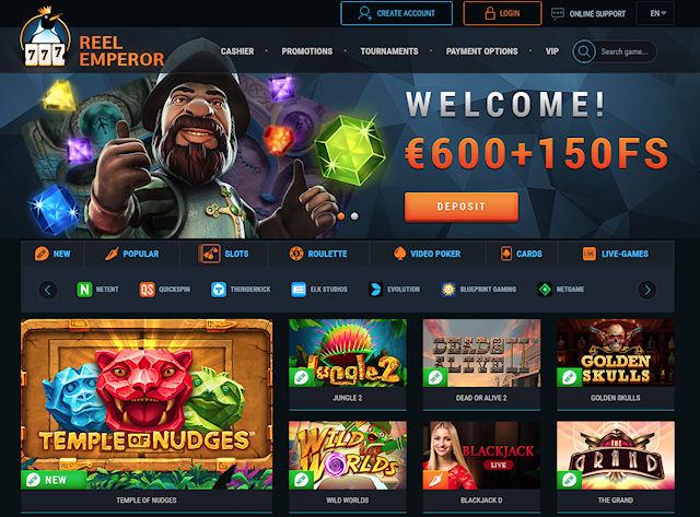 Онлайн-казино ReelEmperor - неизменное качество игры