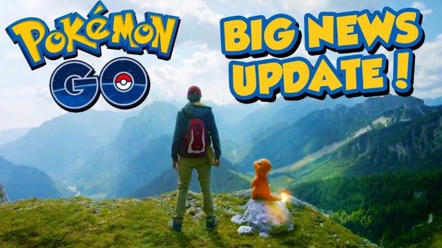 Состоялся релиз большого обновления для Pokemon Go