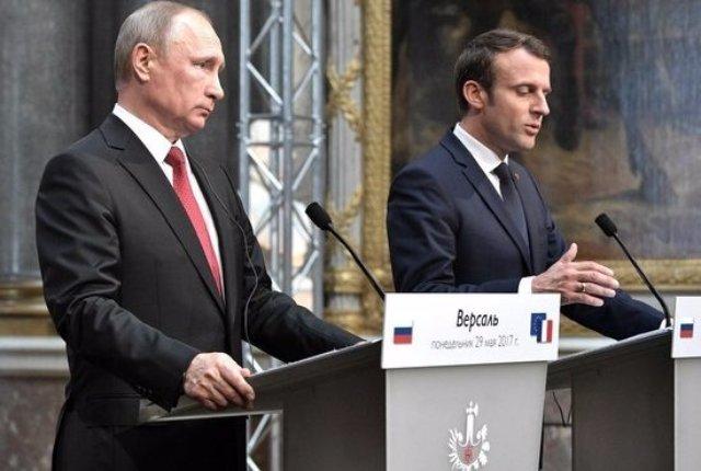 Почему Путин не «дал сдачи» Макрону