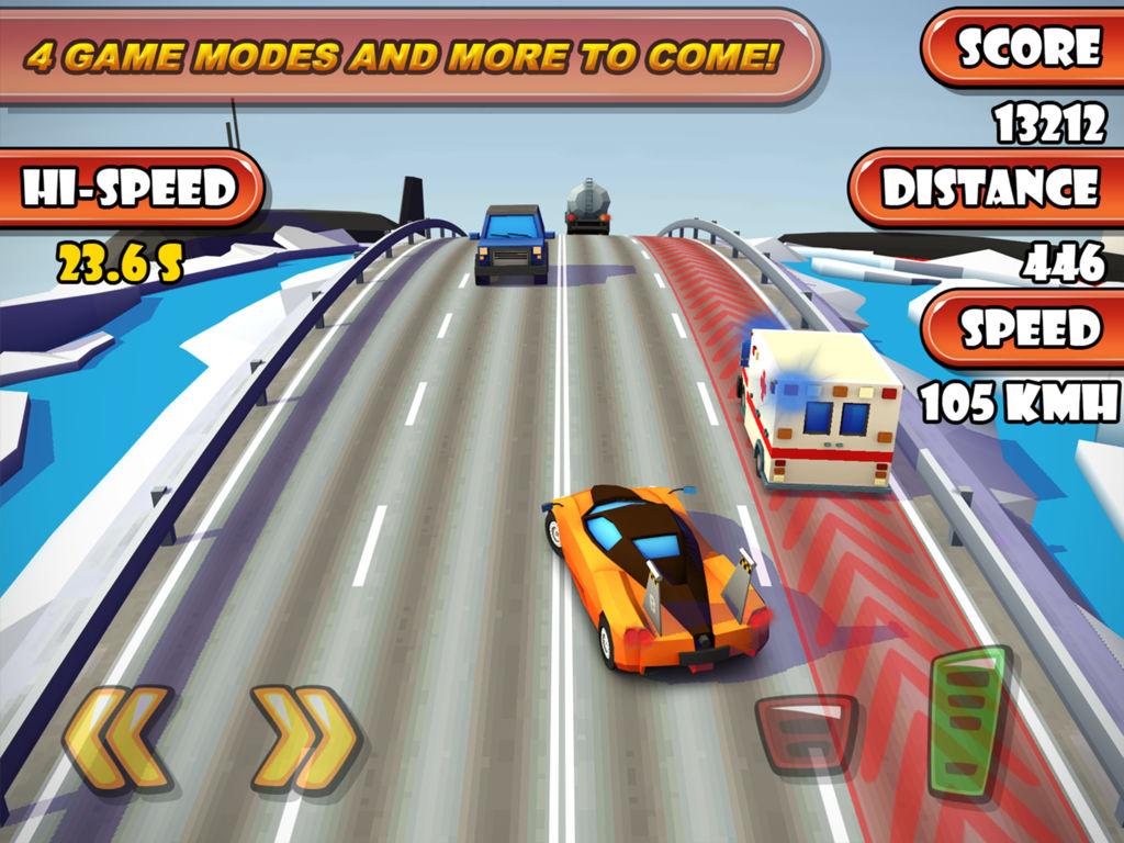 «Highway Traffic Racer Planet» – авто-раннер, в котором вы каждое мгновение в шаге от горизонта