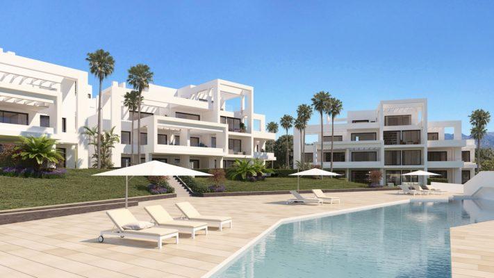 Купить недвижимость в Испании - Эстепоне, Костадель Соль
