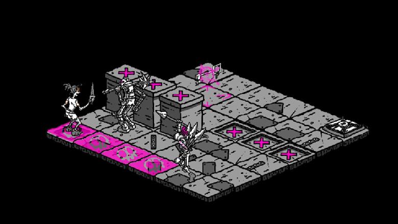 «Plunge»: пошаговый Dungeon Crawl про побег из тюрьмы с интересным визуальным стилем