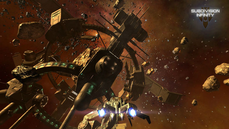 Так должна была выглядеть Galaxy on Fire 3. Релиз космического шутера Subdivison Infinity