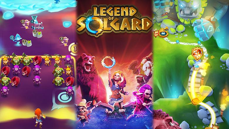 «Legend of Solgard»: не такая уж казуальная RPG от King