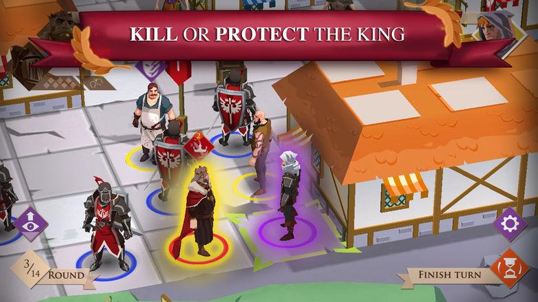 «Kings And Assassins» – спасти или убить короля? Ваш ход!