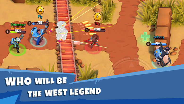 «West Legends»: яркая MOBA с блиц-матчами