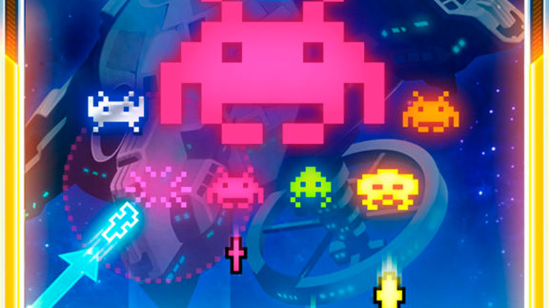 Что будет, если скрестить Space Invaders и Arkanoid? SQUARE ENIX попробовали получилась Arkanoid vs Space Invaders