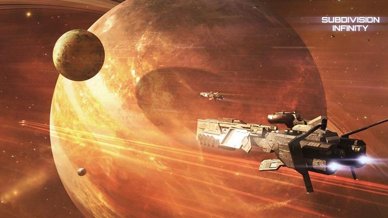 Релиз симулятора космических сражений Subdivision Infinity запланирован на конец мая