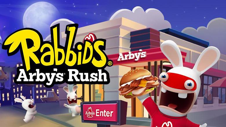 «Rabbids Arby's Rush»: на луну с бешеными кроликами