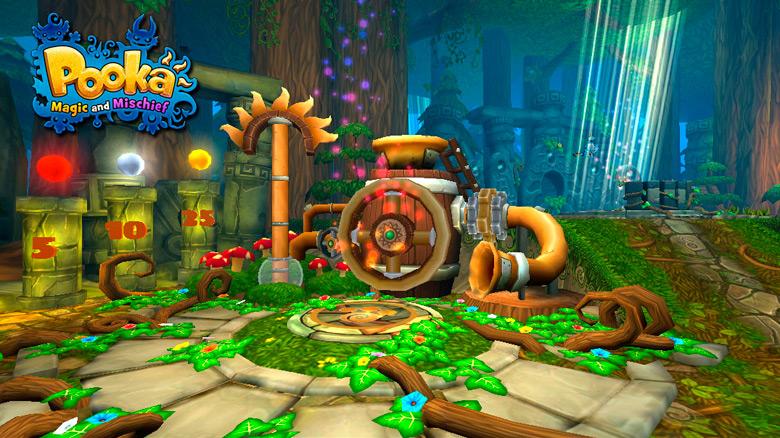 Приключенческая игра с открытым миром «Pooka: Magic And Mischief» выйдет в конце октября