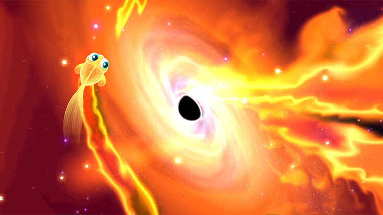 Обаятельная аркада «Super Starfish»: рыбка покоряет космос