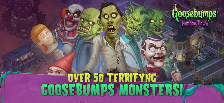 Постройте город и населите его людьми и монстрами в «Goosebumps: Horrortown»