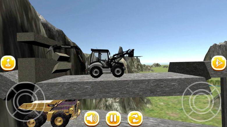 Вышел сиквел популярной Android-игры — «Traktor Digger 3D»: вновь у руля спецтехники