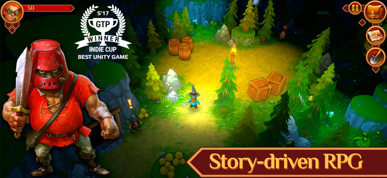 «Quest Hunter» — интригующая RPG от московской студии 2 Zombie Games [софт-запуск]