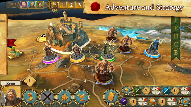 «Legends Of Andor» – мобильная адаптация настольной игры о приключениях героев