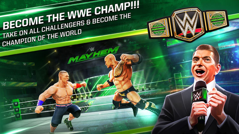 «WWE Mayhem»: как затапать до нокаута?