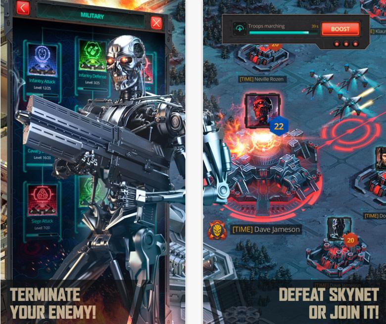Победи или защити человечество в мобильной стратегии «Terminator Genisys: Future War»