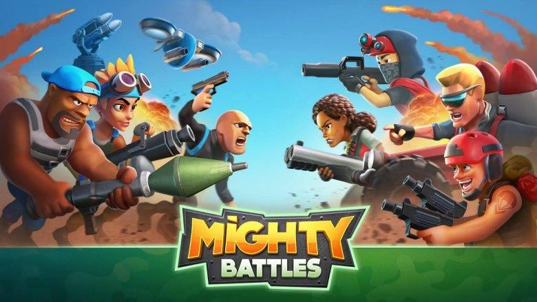 Анонс «Mighty Battles», стратегии с элементами FPS от создателей серии«Kill Shot»