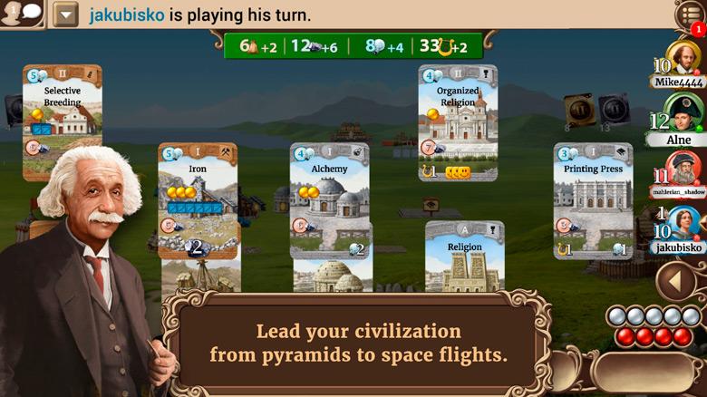 Постройте цивилизацию в «Through The Ages»