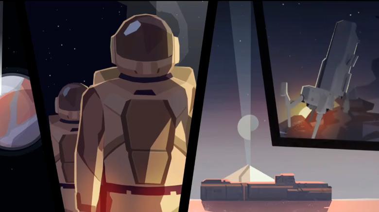 «Symmetry GO» – футуристический тайм-менеджер о выживании на заброшенной планете