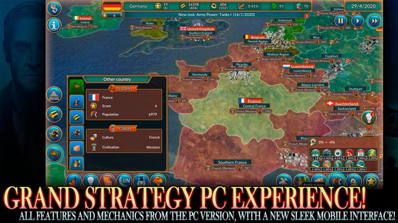 Порт стратегии Realpolitiks на iOS выйдет в июле