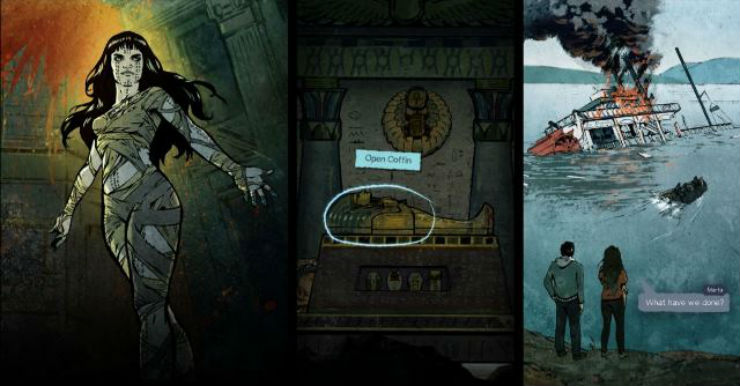 Анонс «The Mummy Dark Universe», игры по мотивам недавнего перезапуска известной кинофраншизы