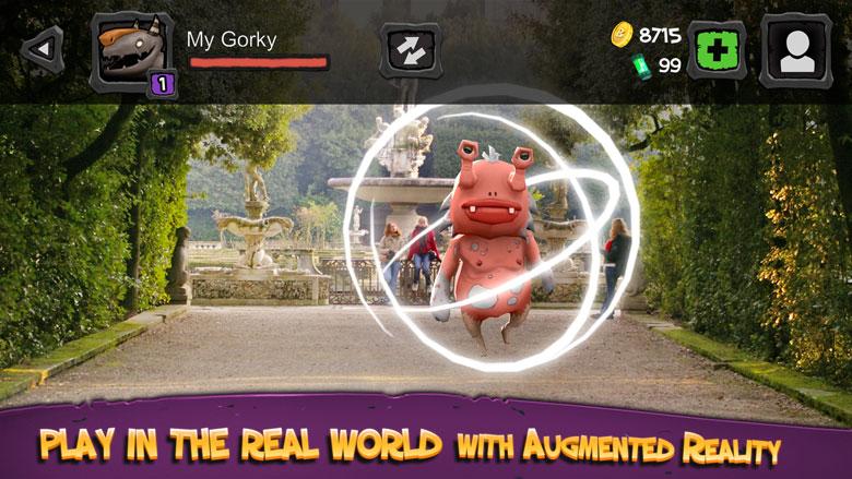 Собери своих монстров в «Monster Buster: World Invasion», RPG с дополненной реальностью