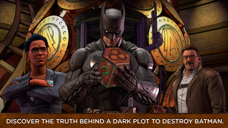 «Batman: The Enemy Within» – новая глава саги о темном рыцаре