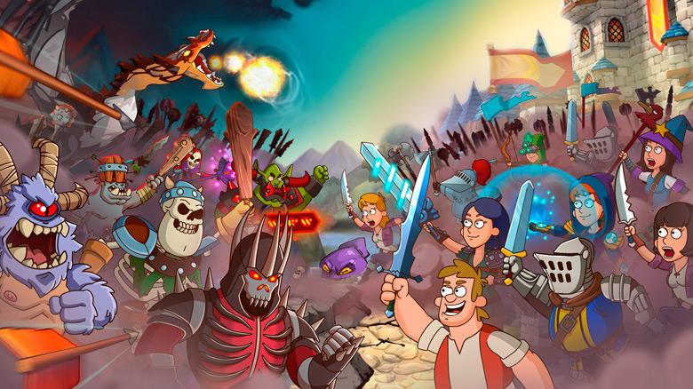 «Hustle Castle» – постройте замок мечты и победите темный лорда!
