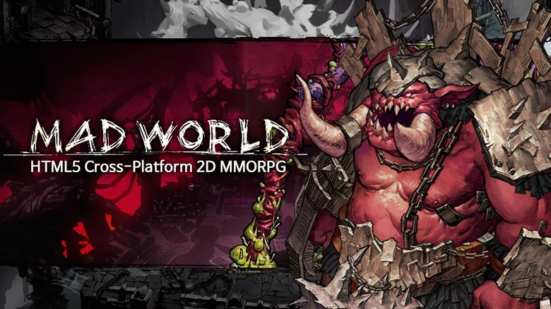 «Mad World»: Jandisoft показала новое видео кроссплатформенной RPG на HTML5